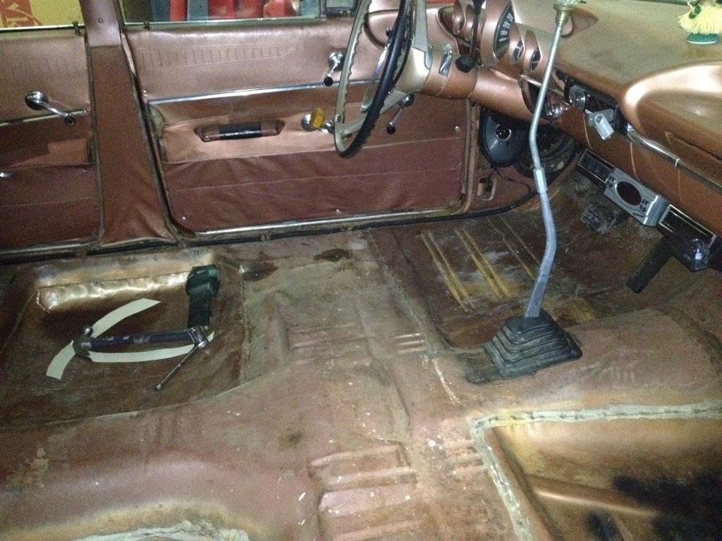 1960 Chevy Wagon Durrett Customs 1942 Truck Patina 20120921 000857